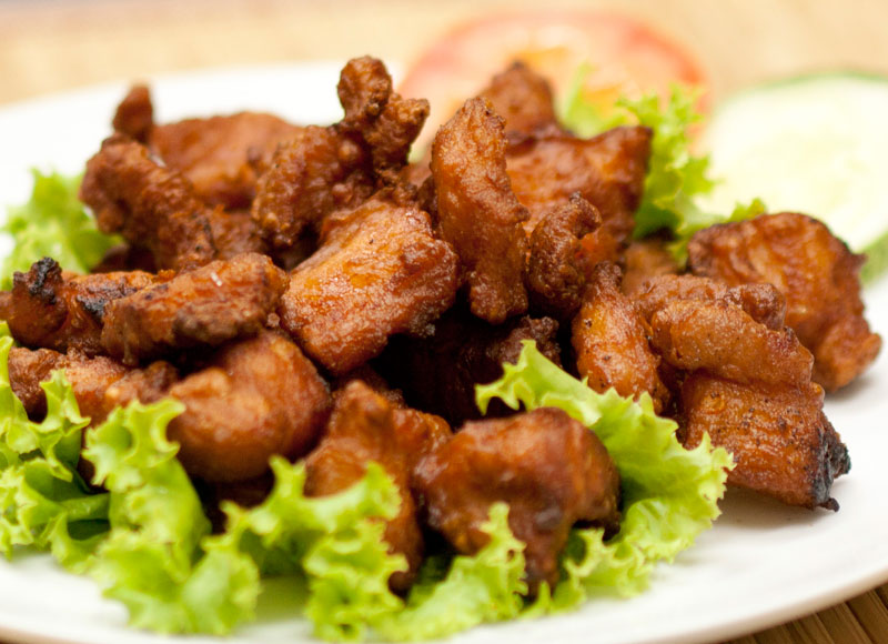 Deep Fried Pork Fillet with Bean Sauce