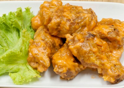 Fried Chicken with Special Mayonnaise