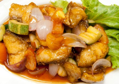 Sweet & Sour Fish Cutlet