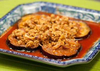 Spicy Eggplant with Minced Pork