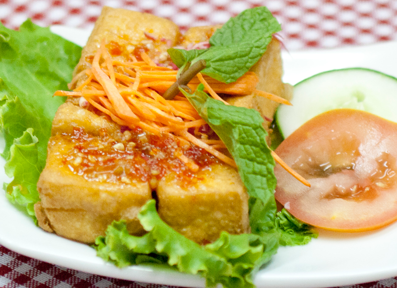 Thai Style Home Made Tofu