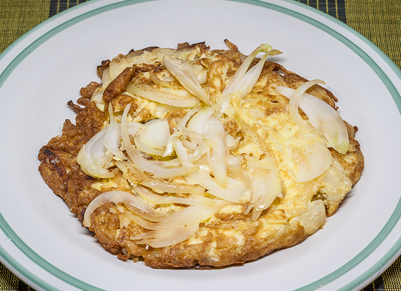 Omelette with Onion