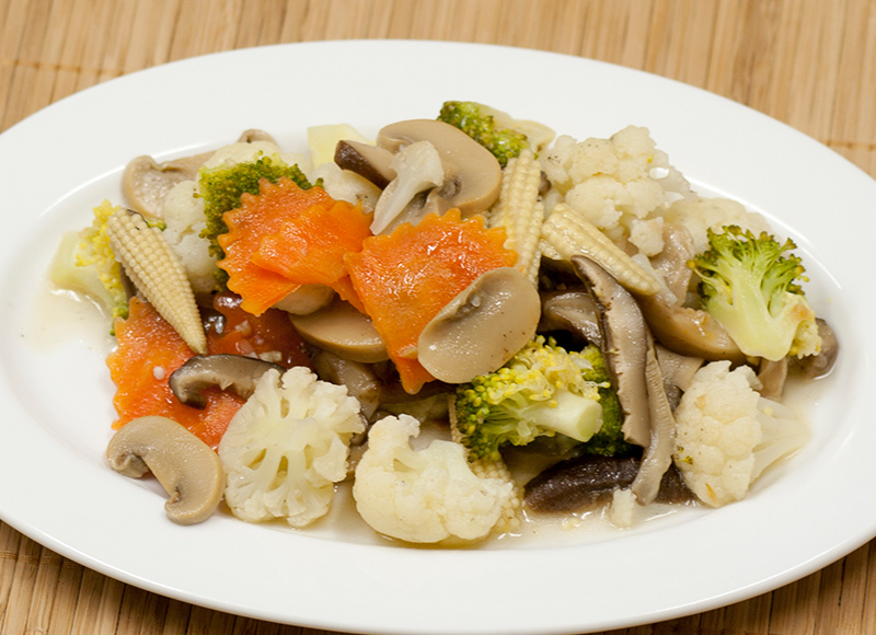 Stir Fried Mixed Vegetable