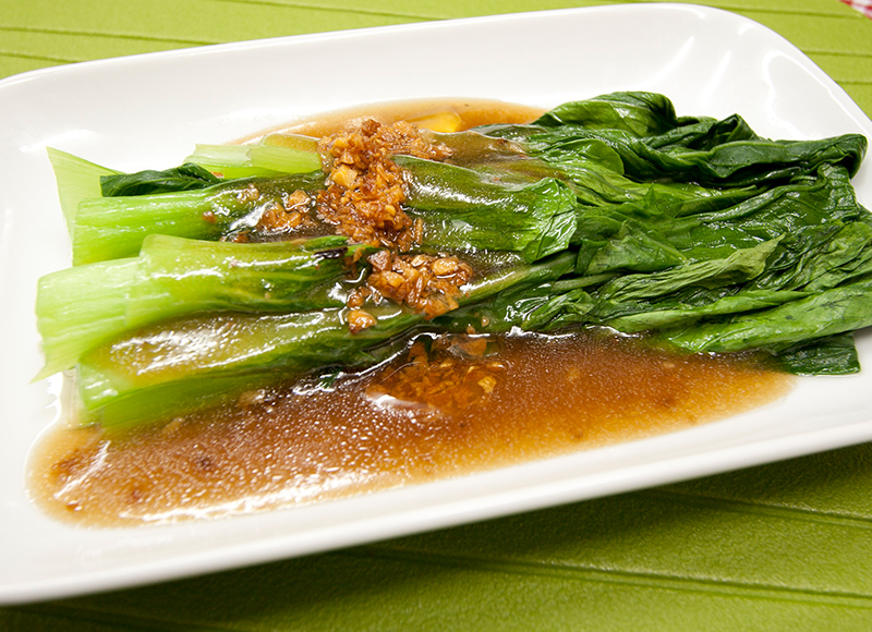 Cabbage with Oyster Sauce
