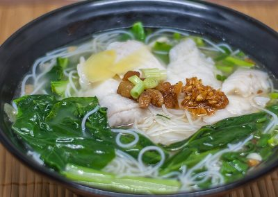 Fish Fillet with Bee Hoon Soup