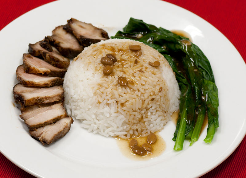Honey BBQ Pork Rice