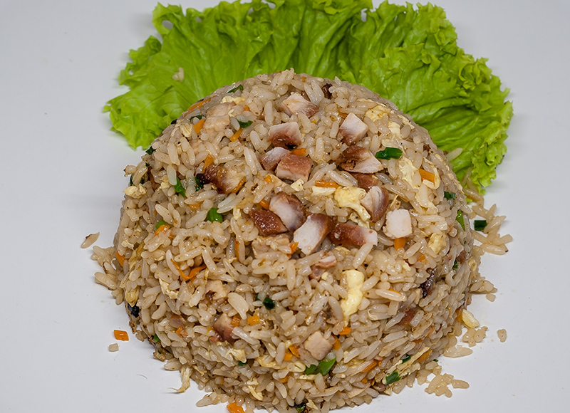 Honey BBQ Pork Fried Rice